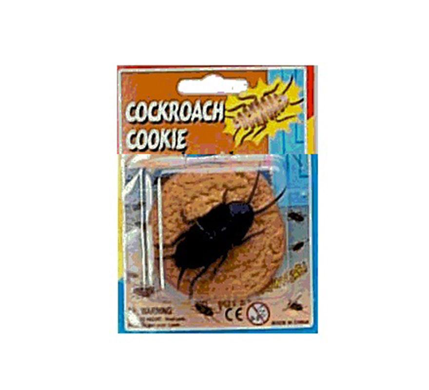 Galleta con cucaracha.