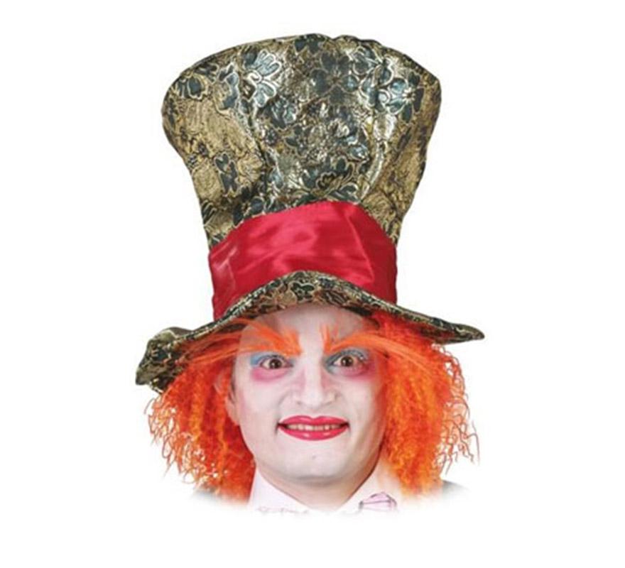 Chistera lujo con pelo. Es perfecto para disfrazarse de El Sombrerero loco en la película de Alicia en el País de las Maravillas, escéntrico personaje interpretado por Johnny Deep.