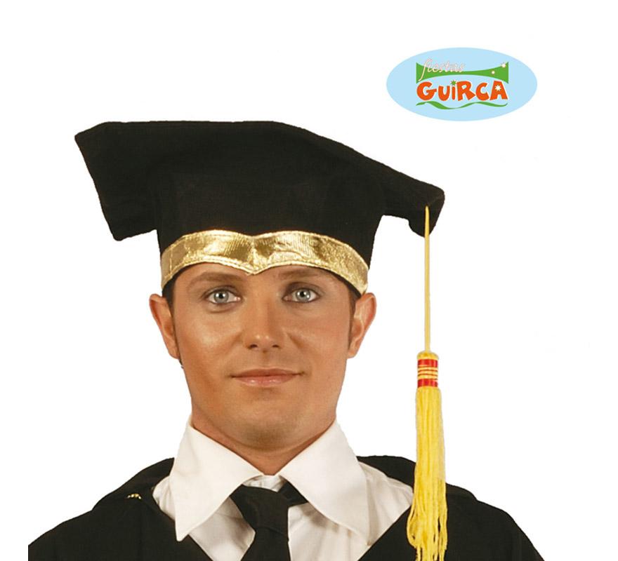 Sombrero de Estudiante o Graduado de tela. Birrete de Licenciado.