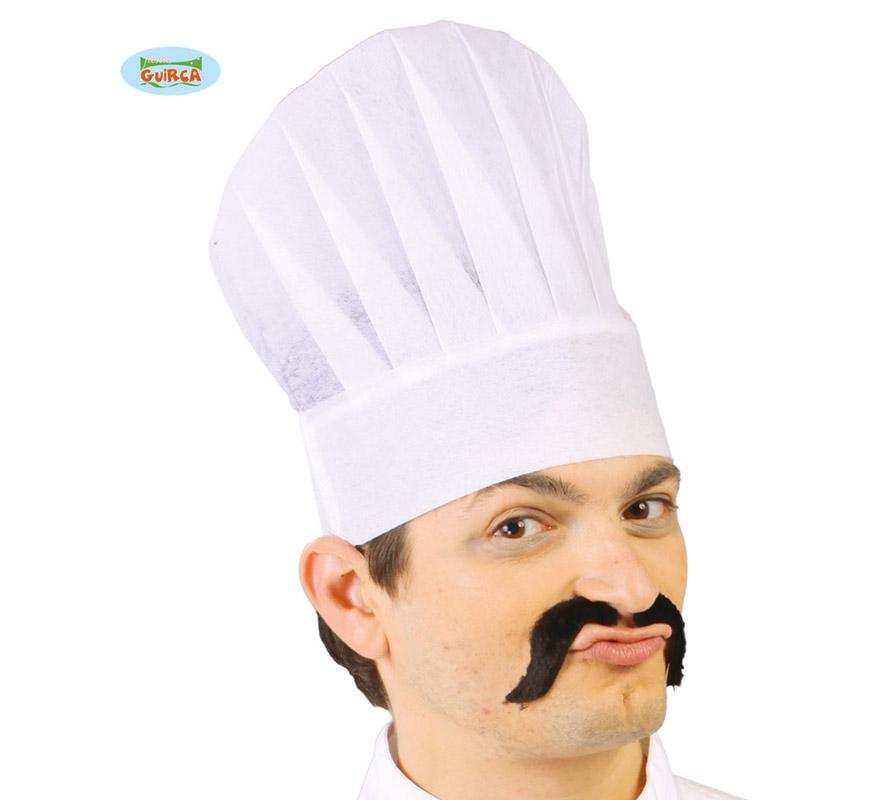 Gorro o Sombrero de Cocinero de papel.