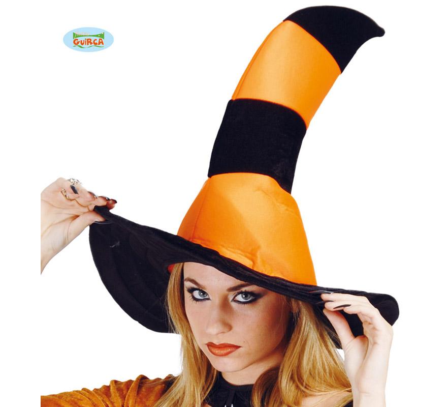 Sombrero de Bruja Rayas.