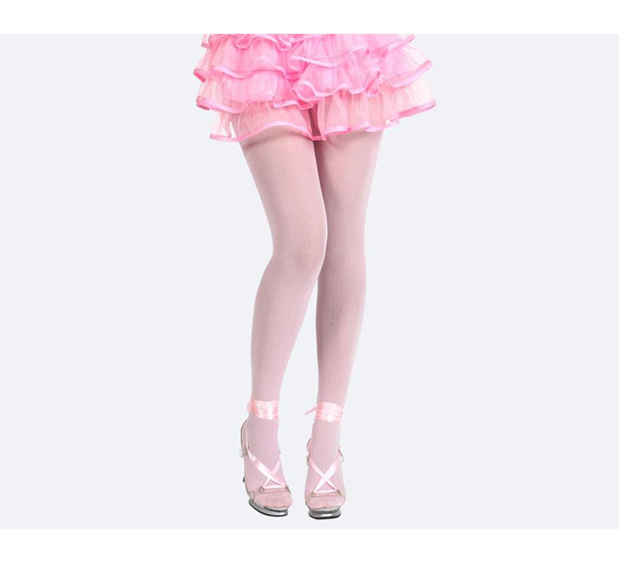 Pantys rosa neon. Talla universal. Perfectas para el disfraz de Bailarina.