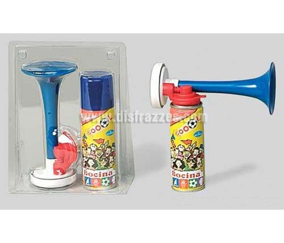 Spray Bocina. Para animar en campos de deporte, fiestas, etc.