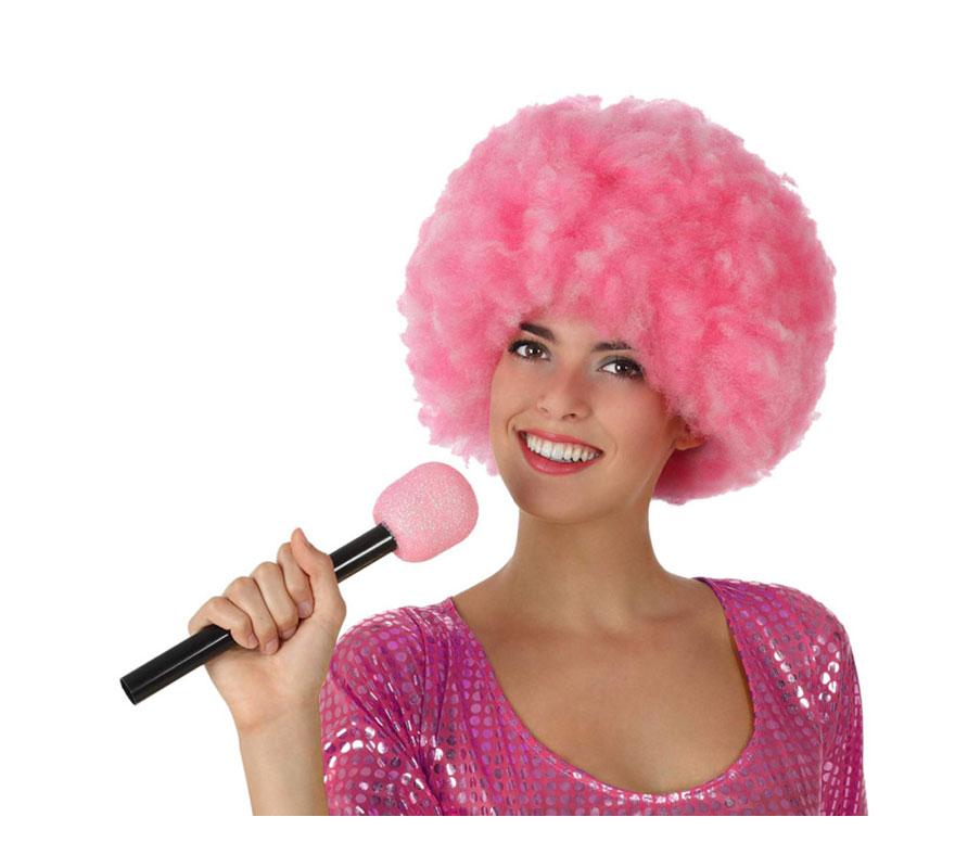 Micrófono Inalámbrico rosa de 27 cm.