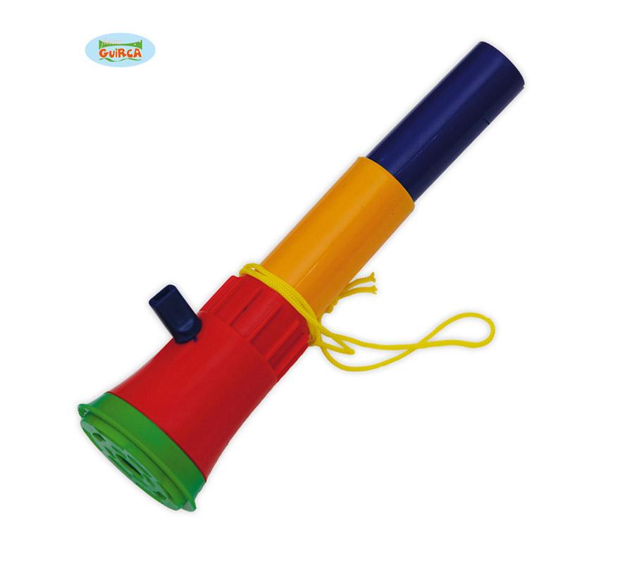 Bocina plástico 27 cm. Ideal para los disfraces de Payaso y para