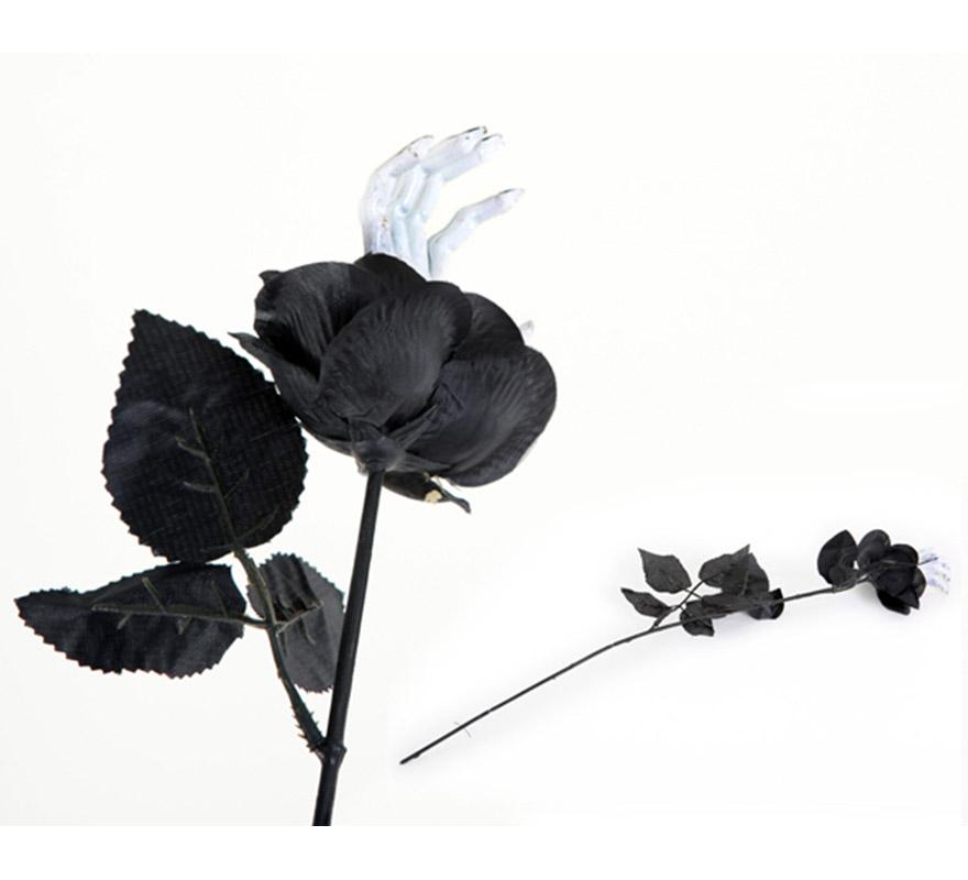 Flor manos terror para llevar como complemento cuendo te disfraces en Halloween o para poner de decoración. Precio por unidad, se venden por separado.