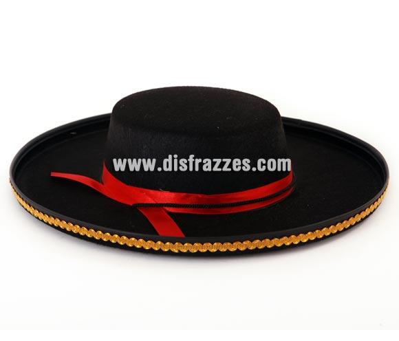 Sombrero Español o Cordobés 37x9 cm.