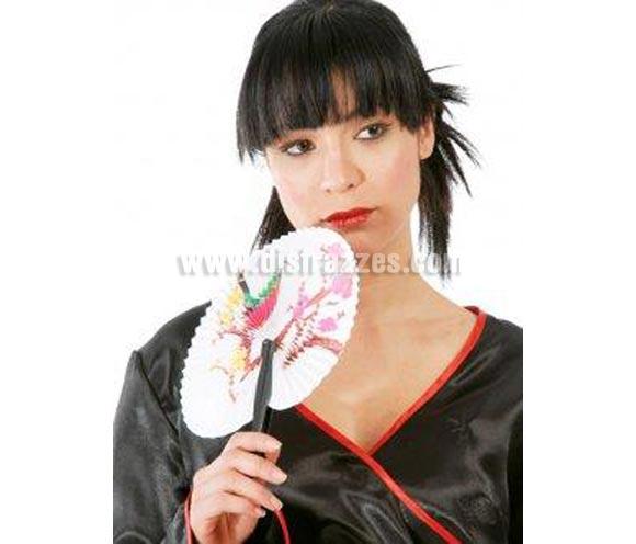 Abanico China de papel. Ideal para tu disfraz de Gheisa o tu disfraz de China Oriental. Pai Pai chino de papel.