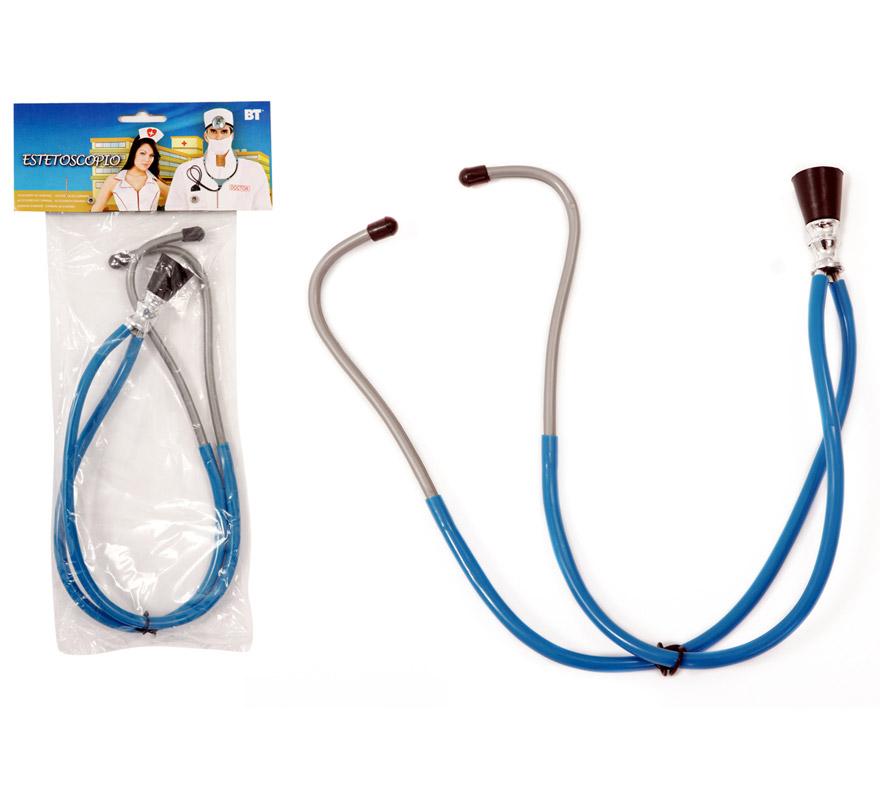 Estetoscopio PVC. Perfecto para disfraces de médicos o cirujanos y enfermeras.