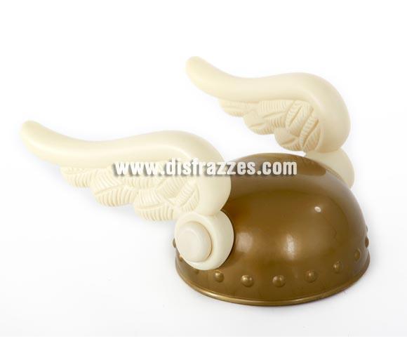 Casco con alas de Astérix infantil de 17 cm. diámetro.