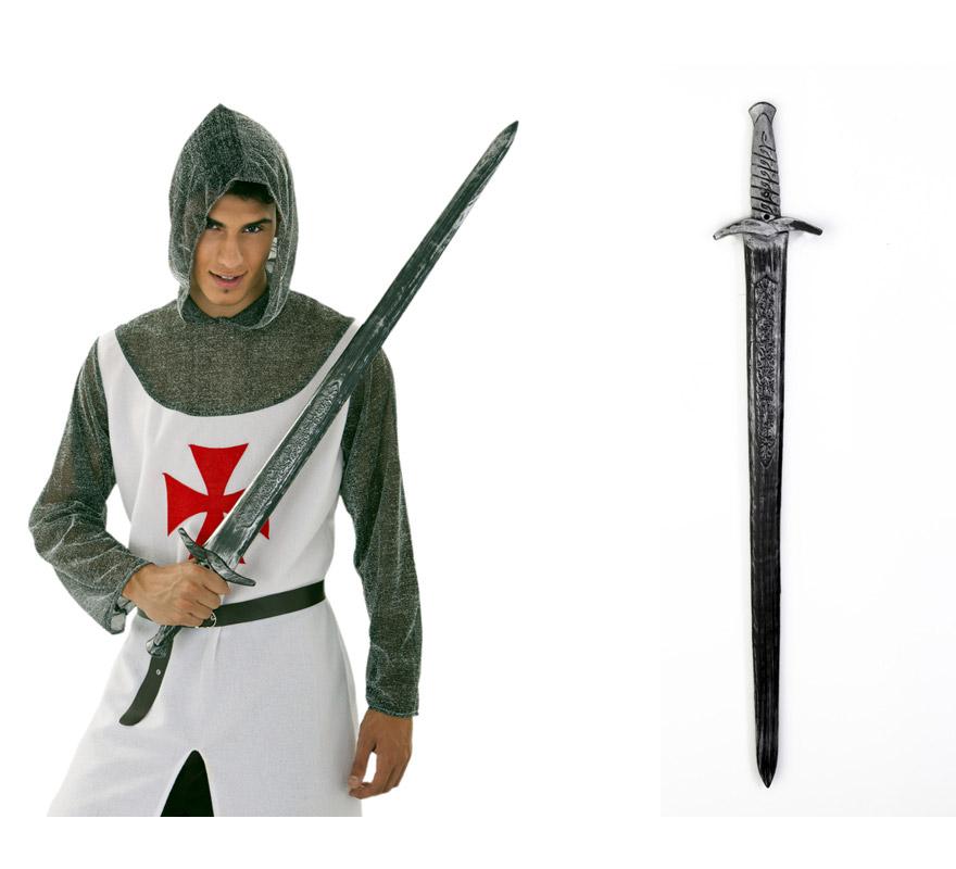 Espada de Caballero Medieval 99 cm. Perfecta como complemento de los disfraces de Medievales.