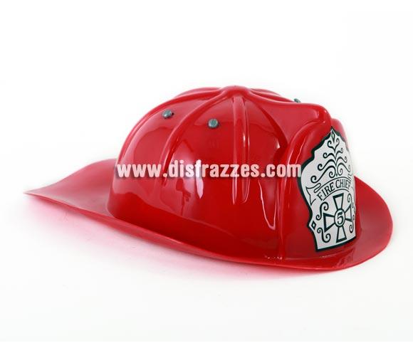 Casco o sombrero de Bombero 22x26 cm.