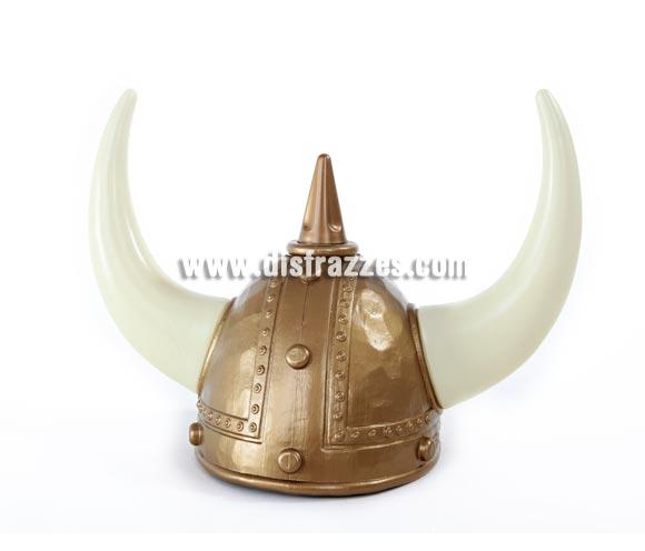 Casco de Vikingo o Bárbaro 23x14 cm.