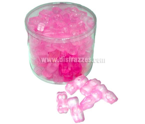 Cubito hielo con forma de cuerpo de chica. Precio por unidad, se venden por separado. Es un tipo de plástico relleno de líquido que se puede meter en el congelador y queda muy original ponérselo a una bebida para refrescarla.