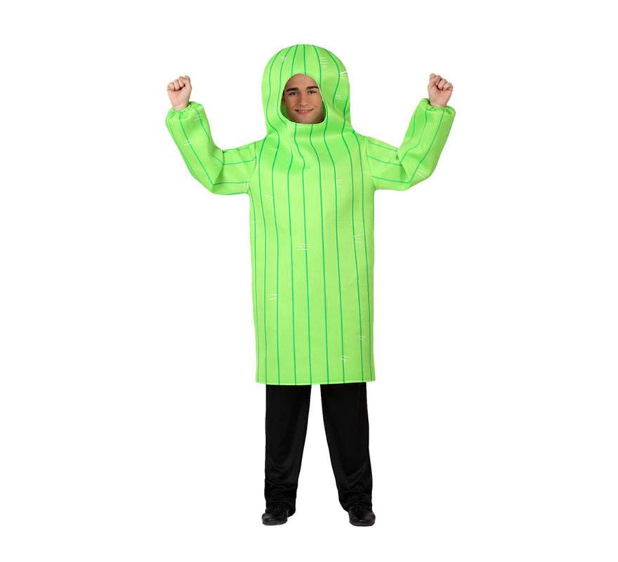 Disfraz de Cactus para adultos. Incluye disfraz de cactus, pantalón NO incluido.