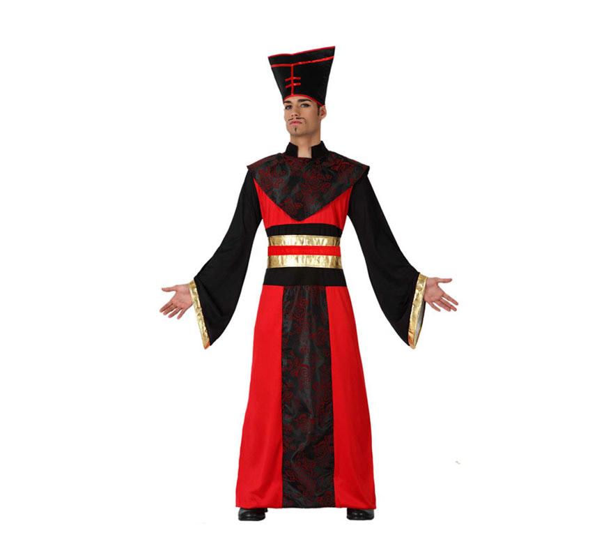 Disfraz de Japonés para hombre. Talla 2 ó talla M-L = 52/54. Incluye disfraz completo.