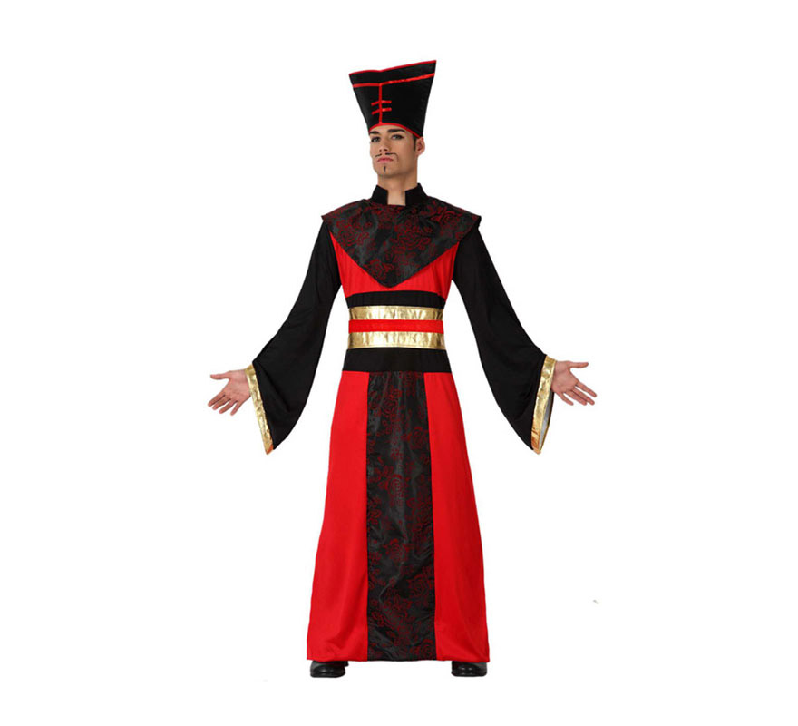Disfraz barato de Japonés para hombre talla XL