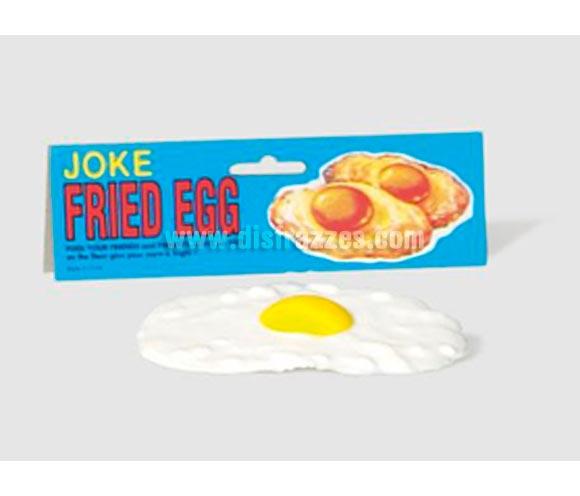 Huevo frito de broma