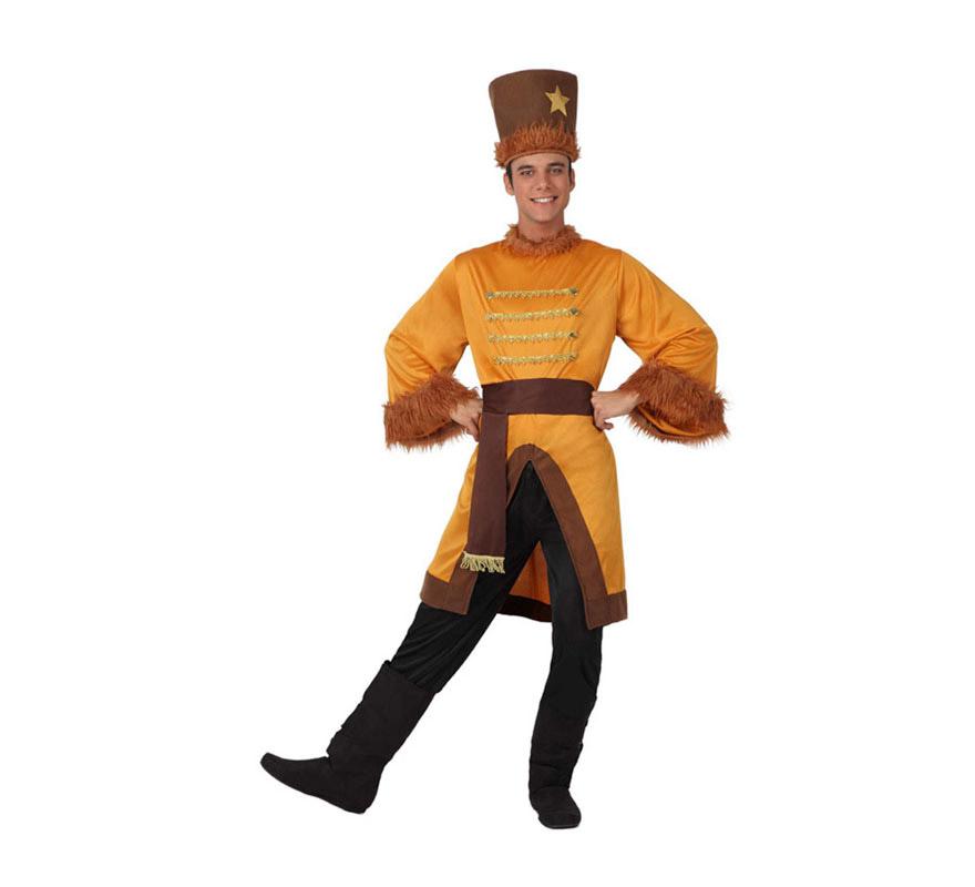 Disfraz de Ruso para hombre. Talla 2 o talla M-L = 52/54. Incluye disfraz completo SIN cubrebotas.