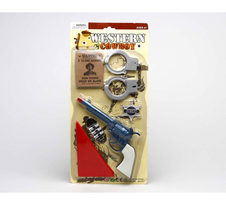 Set de Sheriff del Oeste con accesorios
