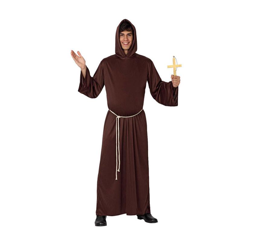 Disfraz barato de Monje para hombre talla M-L