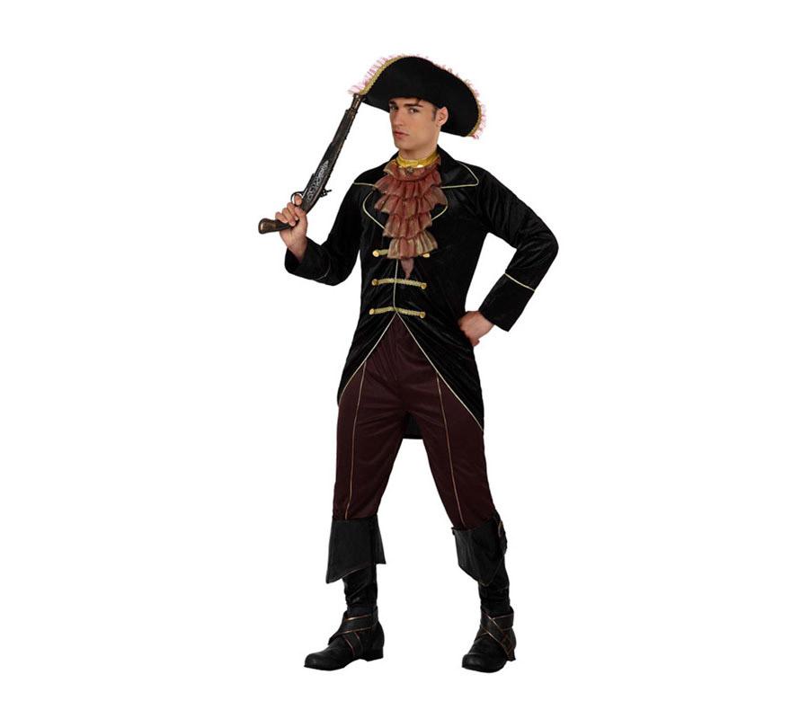 Disfraz barato de Pirata Elegante para hombre talla M-L