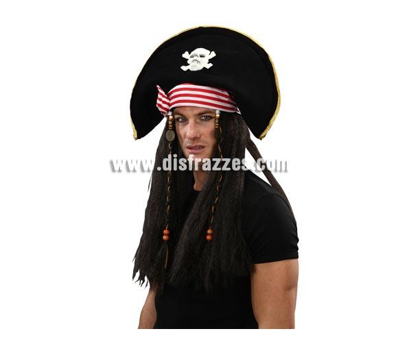 Sombrero con peluca de Pirata.