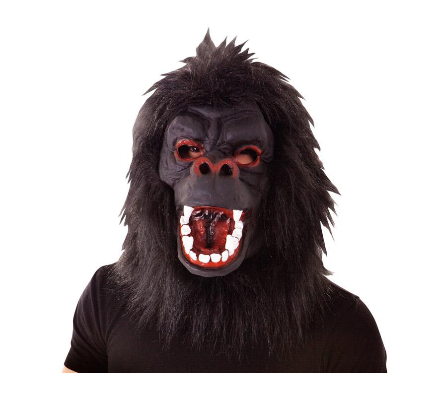 Máscara de Gorila para Halloween.