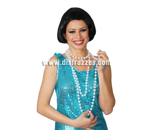 Collar de perlas Charlestón. También se usa para los disfraces de Flamenca, Seviallana o Gitana.
