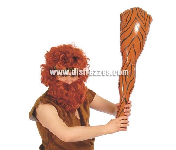 Maza Hinchable. El Complemento ideal para tu disfraz de Troglodita o Cavernícola. También para disfrazarte de los Picapiedra.