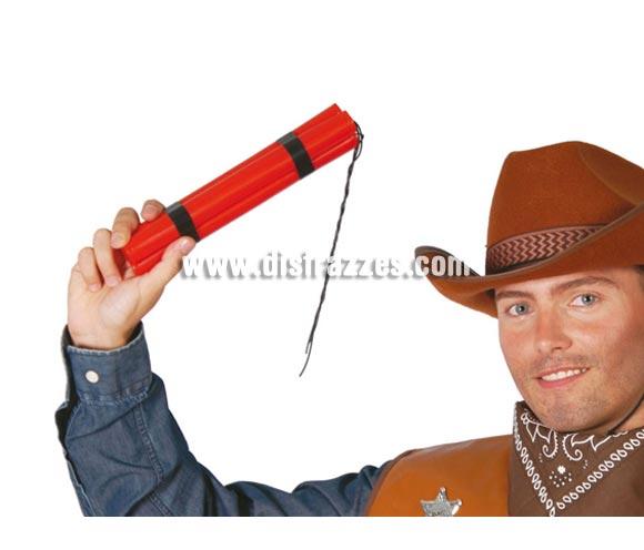 Cartuchos Dinamita. Perfectos como complementos de los disfraces de Pistolero o Vaquero del Oeste, también para Gánster o Rambo.