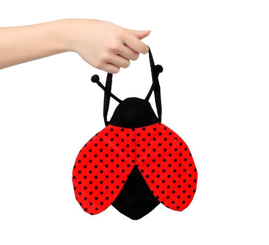Bolso de Mariquita con alas. Perfecto como complemento para los disfraces de Mariquita.