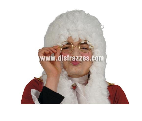 Gafas de metal para Papa Noel, Juez, etc.