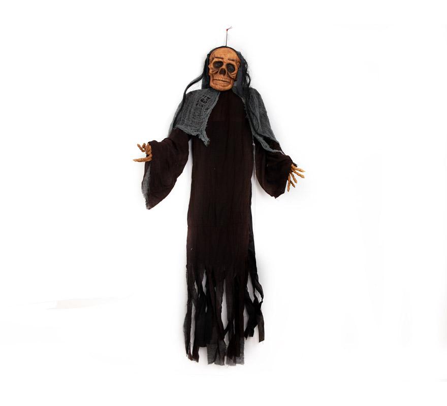 Esqueleto GIGANTE colgante con luz 180 cm. Perfecto para la decoración de Pubs y Discotecas en Halloween.