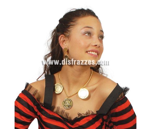 Collar y pendientes de Pirata.