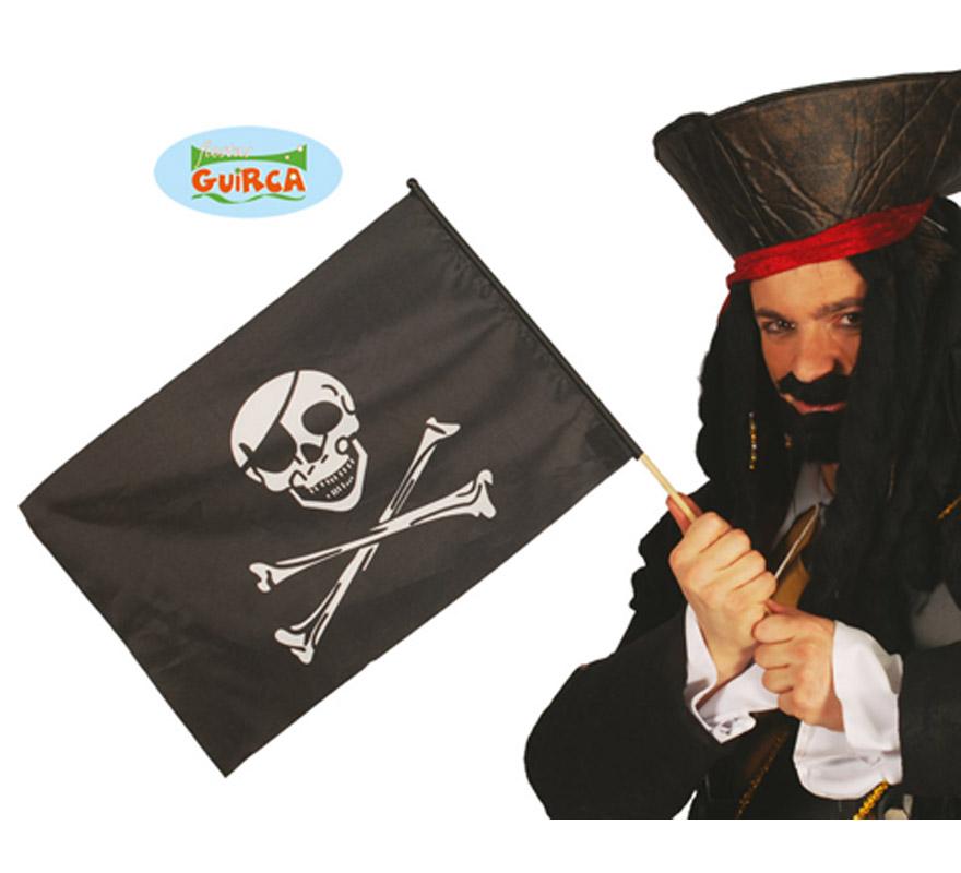 Bandera Pirata 44x32cms.
