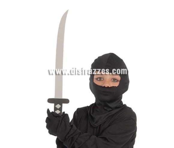 Espada Ninja 51 cm. (E.V.A). Perfecto para los niños ya que es material blandito.