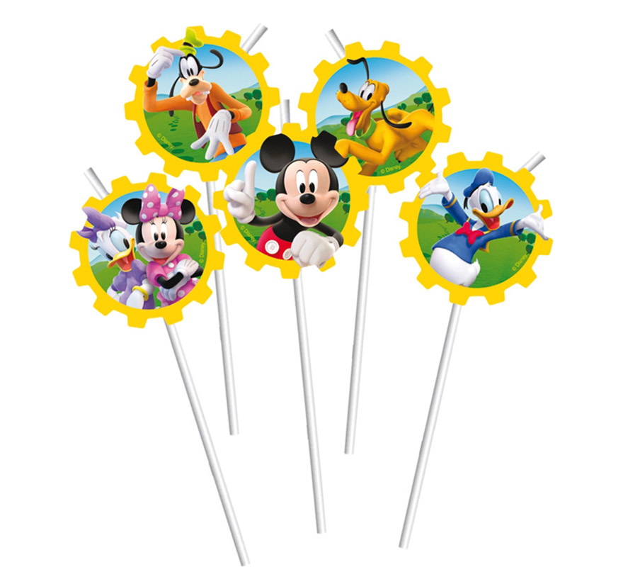 Bolsa de 6 sorbetes Mickey Club House.