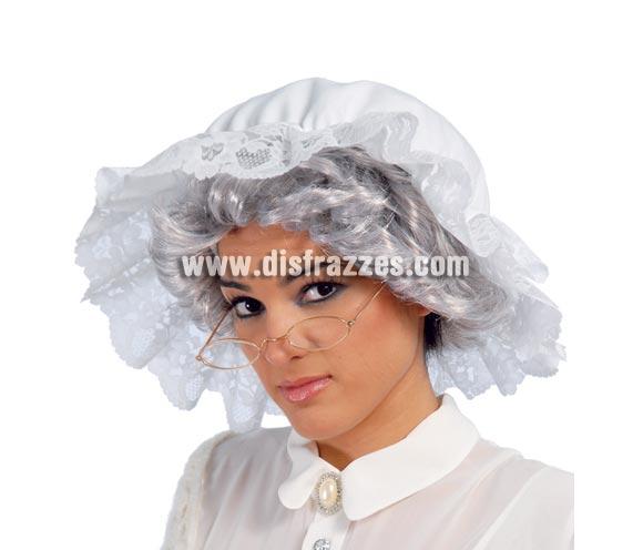Gafas metálicas ovaladas. Perfectas como complemento para disfraz de Abuelita de Caperucita, Vieja o Viejo, Anciana o Anciano y por supuesto para disfraces de Papa Noel en Navidad.