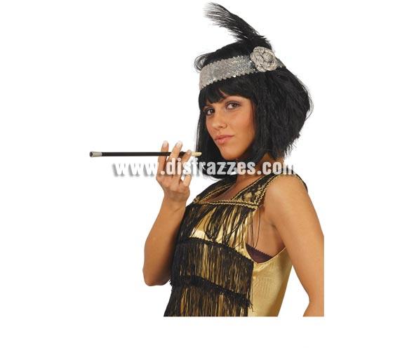 Boquilla Charlestón 30 cms. El Complemento ideal para tu disfraz de Charlestón y Cabaret.