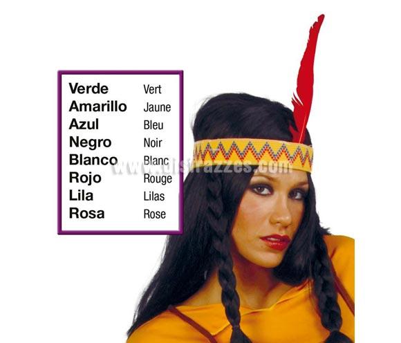 Pluma suelta de Indio de 30 cm. Colores variados. Precio por unidad, se venden por separado. También se puede usar para Despedidas de Soltera o Soltero, para hacer el Indio un rato, jejeje.