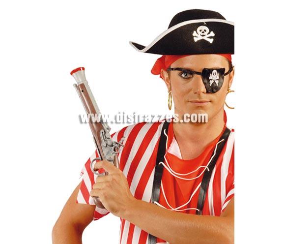 Pistolón trabuco Pirata de 35 cm. Pistola o arcabúz de Pirata.