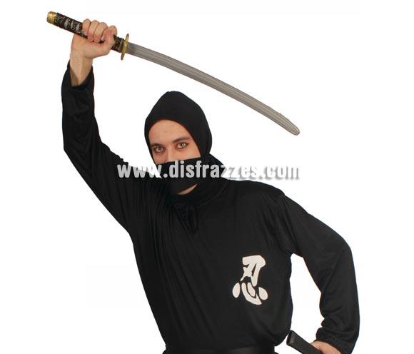 Espada o Sable Japonés o de Ninja con funda 76 cm.