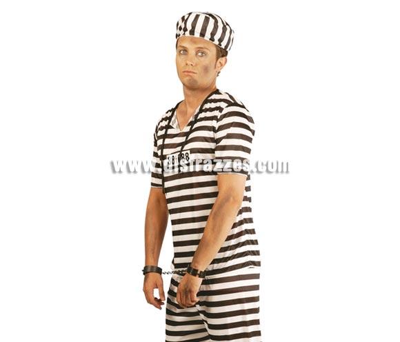 Grilletes o Esposas. Perfecto para disfraces de Halloween o de Preso, Prisionero o Presidiario.