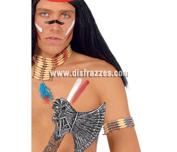 Pulsera o brazalete de Indio. El complemento idela para tu disfraz de Indio o India.