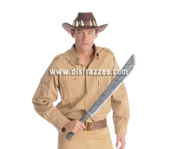 Machete 75 cm. Ideal para Indiana Jones.