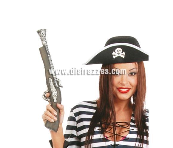 Pistolón Trabuco 42 cm. Perfecto para disfraces de Piratas, también como arma de disfraz de Mejicano.