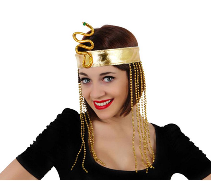 Accesorio de Egipcia o Cleopatra para la cabeza.