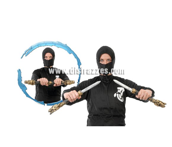 Par de Dagas 30 cm. para Ninjas.