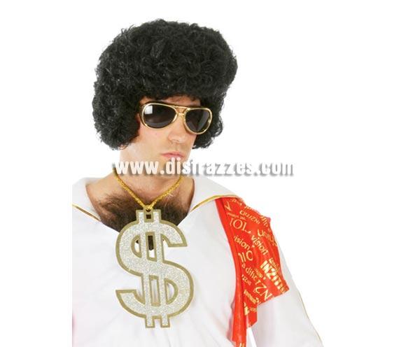Colgante símbolo del Dollar gigante. Perfecto para disfraz de Elvis, Rey del Rock o de Jeque árabe.